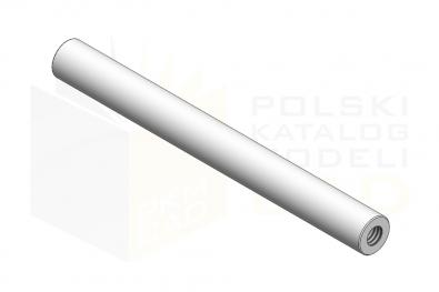 ISO 8735_Kołek walcowy hartowany z gwintem wewnętrznym - IsometricView