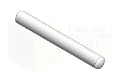 ISO 2338_Kołek walcowy - IsometricView