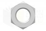 ISO 7035_Nakrętka sześciokątna koronowa - BackView