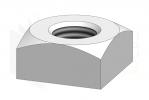 DIN 557_Nakrętka kwadratowa - DimetricView