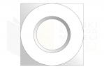 DIN 557_Nakrętka kwadratowa - TopView