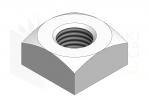 DIN 557_Nakrętka kwadratowa - IsometricView