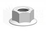 ISO 4161_Nakrętka sześciokątna - DimetricView