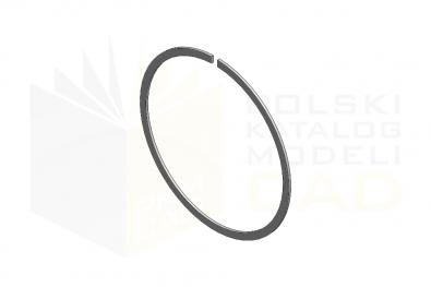 DIN 5417_Pierścień osadczy - IsometricView