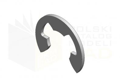 DIN 6799_Płytka osadcza sprężynująca - IsometricView