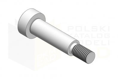 ISO 7379_Śruba pasowana 12.9 - IsometricView