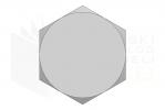 ISO 8765_Śruba z łbem sześciokątnym - 10.9 - LeftView