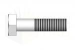 ISO 4014_Śruba z łbem sześciokątnym - 8.8 - TopView