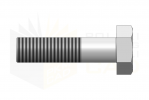 ISO 4014_Śruba z łbem sześciokątnym - 8.8 - BackView