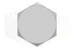 ISO 4014_Śruba z łbem sześciokątnym - 8.8 - LeftView