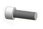 ISO 4762_Śruba imbusowa - 10.9 - DimetricView