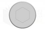 ISO 4762_Śruba imbusowa - 10.9 - LeftView