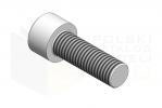 ISO 4762_Śruba imbusowa - 10.9 - IsometricView