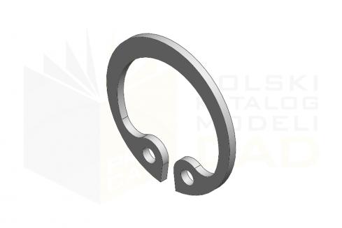 DIN 472_Pierścień osadczy sprężynujący - FSt - 1