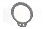 DIN 471_Pierścień osadczy zewnętrzny - FSt - DimetricView