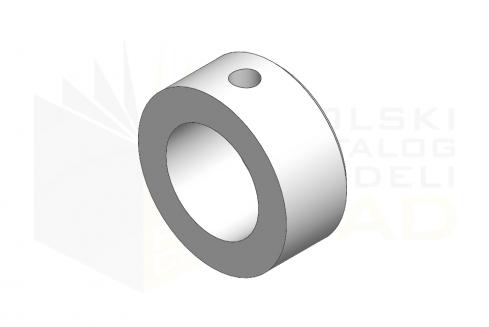 DIN 705 A_Pierścień osadczy - IsometricView