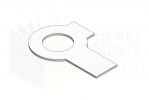 DIN 463_Podkładka odginana - IsometricView