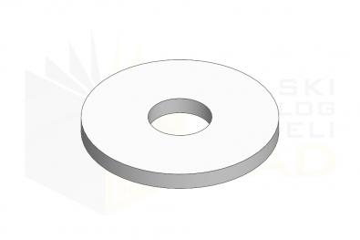 ISO 7094_Podkładka - 140HV - IsometricView