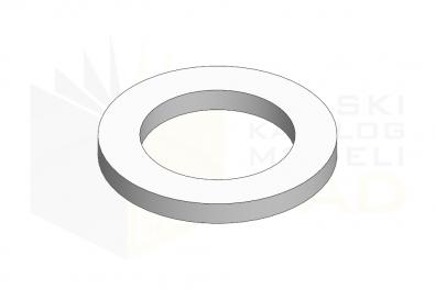 ISO 7092_Podkładka - 200HV - IsometricView
