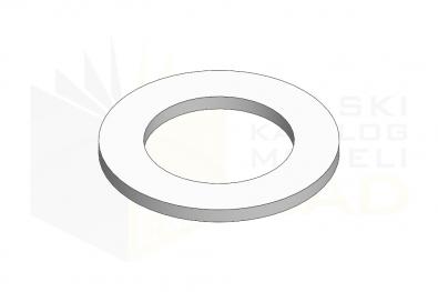 DIN 988_Podkładka dystansowa - IsometricView