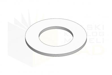 DIN 137 B_Podkładka podatna falista - IsometricView