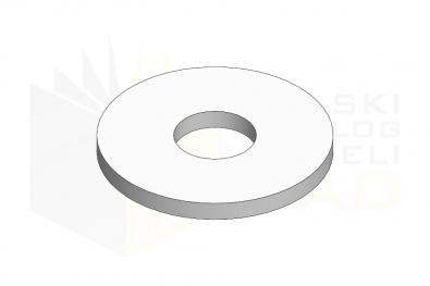 ISO 7093_Podkładka okrągła powiększona - 140HV - IsometricView