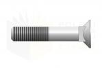 DIN 608_Śruba z łbem stożkowym - 8.8 - BackView