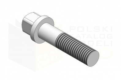 DIN 478_Śruba z łbem kwadratowym - 10.9 - IsometricView