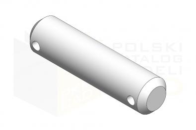 ISO 2340_Sworzeń - IsometricView