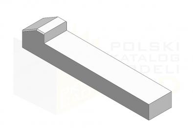 DIN 6887_Wpust klinowy - IsometricView